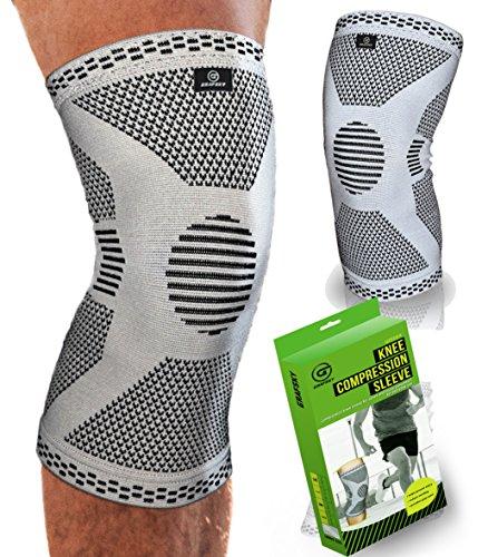 Tutore per ginocchio per lesioni ai legamenti  Guaina di compressione per  ginocchio Ginocchiera per strappi al menisco Utile per recupero di lesioni,