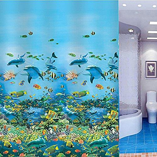 joyoldelf-eva-sea-world-shower-curtain-bathroom-curtains-with-12-hooks-waterproof-mouldproof-180-cm-
