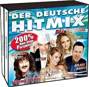 Der deutsche Hitmix - Das Original - 4 CD-Box