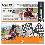 (10 x) Einladungskarten Geburtstag Motocross Motorrad Rennen Bike Einladungen