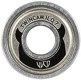 Powerslide Twincam ILQ 7 12er Pack Kugellager, Silber, 608