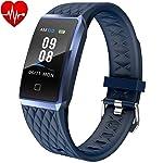 Willful Smartwatch Orologio Fitness Trakcer Donna Uomo Cardiofrequenzimetro da Polso Smart Watch Contapassi Android iOS...