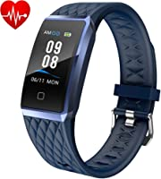 Willful Smartwatch Orologio Fitness Trakcer Donno Uomo Bambini Cardiofrequenzimetro da Polso Android iOS Impermeabile...