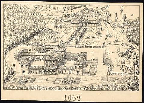 Posta Romana - ThePrintsCollector dessin Antique Motif Roman Castellum-poste 1062–Gerard