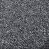 WOLTU TD3043gr Tischdecke Tischtuch Leinendecke Leinen Optik Lotuseffekt Fleckschutz Pflegeleicht abwaschbar schmutzabweisend Farbe & Größe Wählbar Eckig 130x220 cm Grau - 5