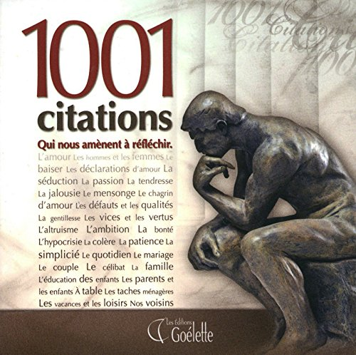 1001 CITATIONS par Collectif