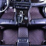 RUIX Tappetini Auto Moquette Materiale in Pelle GM da Pavimento Stagione 4 Stagioni per Auto da 5 Posti, Antiusura Antiscivolo,Black