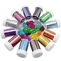 Xshelley Glitter Shakers for Children Kid