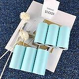 Stampe adesive di carta fotografica per mini stampante foto tascabile, carta per ricevute, 57 x 30 mm, carta adesiva termica per stampa fotografica Paperang, blu