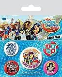 Badge Pack DC Super Hero Girls