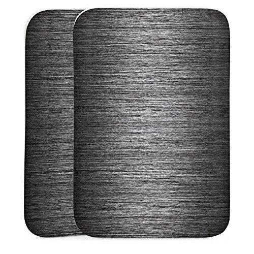 LG VX5400 Handyhülle Tasche Sleeve Socke Schutz - Metal Look - Anthrazit