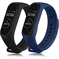 Sounce Adjustable Xiaomi Mi Band 3/ Mi Band 4 Watch Silicone Strap Band Bracelet (Not Compatible with Mi Band 1/2…