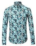 APTRO Herren Freizeit Mercerisierte Baumwolle Mehrfarbig Langarm Shirt #1905 XXXL