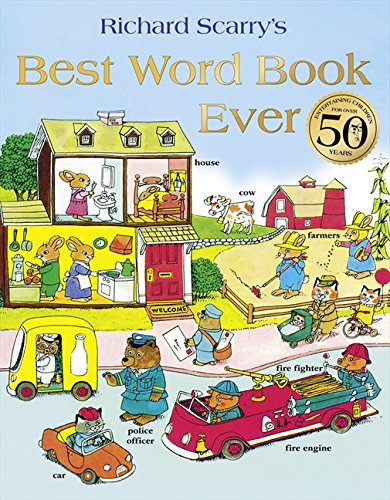 Best Word Book Ever (HarperCollins Children's Books) por Richard Scarry