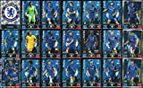 MATCH ATTAX 2018/19 CHELSEA - FULL 21 CARD TEAM SET including ALL 3 CHELSEA MAN OF THE MATCH CARDS
