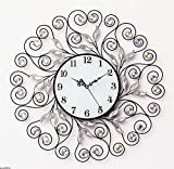 NWYJR Wanduhr Crystal Diamond Mode Kreative Kunst Salon Moderne Personalisierte Dekoration Hängende Uhr C
