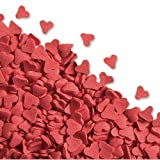 50gr Red Heart Sugar Sprinkles