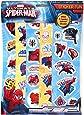 Anker Spiderman Fun Sticker, Plastic, Multi-Colour