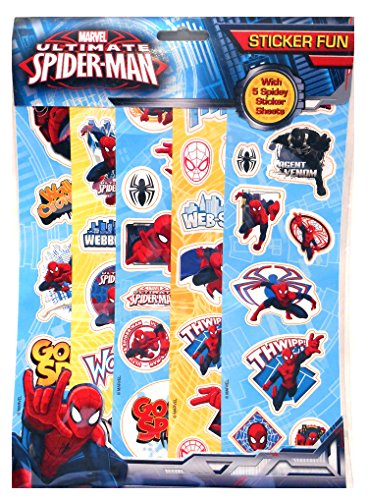 Image of Anker Spiderman Fun Sticker, Plastic, Multi-Colour