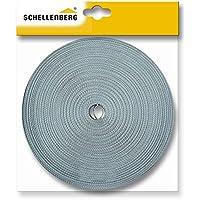 Schellenberg 84502 - Correa de persiana (18mm, 4,5m), color gris