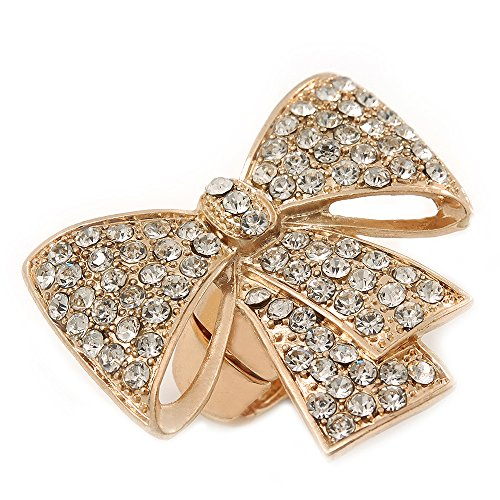 statement-pave-set-swarovski-crystal-bow-flex-ring-in-gold-plating-47mm-across-size-7-8