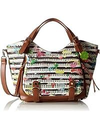 Shoppers y bolsos de hombro para mujer, color Blanco , marca DESIGUAL, modelo Shoppers Y Bolsos De Hombro Para Mujer DESIGUAL 61X51A0 Blanco