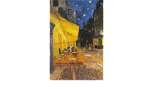 Amazon De Poster Vincent Van Gogh Terrasse De Cafe Grosse 61 X