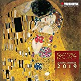 Gustav Klimt 2019: Kalender 2019 (Mini-Calendar 17x17cm)