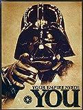 Star Wars Retro Vintage Stil Metall Dose K