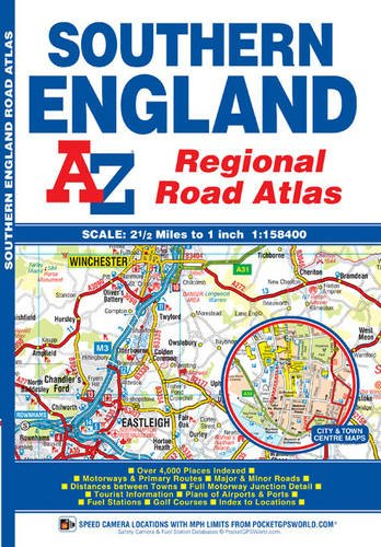 Southern England Regional Road Atlas (A-Z Regional for sale  Delivered anywhere in UK