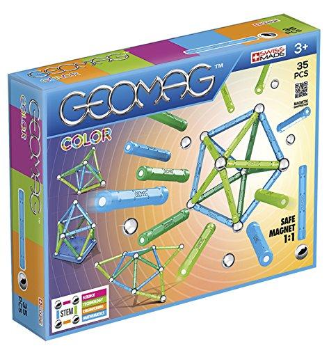 Geomag 261 - Classic Color, Costruzioni Magnetiche e Giochi Educativi, 35 Pezzi
