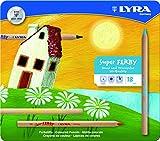 LYRA 3711180 Super Ferby - Caja de metal con 18 lápices de colores