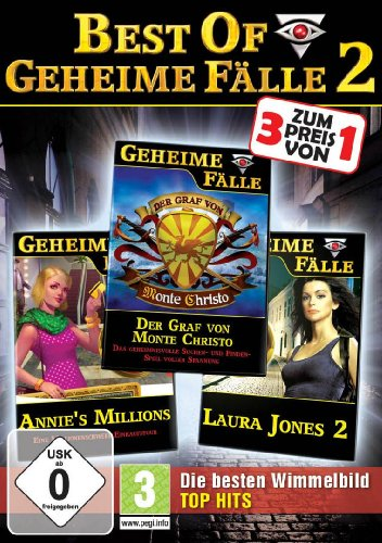 Best of Geheime Fälle 2 (Der Graf von Monte Christo / Annies Millions / Laura Jones 2)
