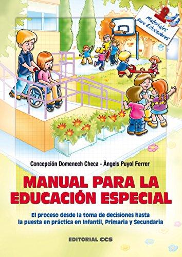 Manual para la Educación Especial (Materiales para educadores) por Concepción Domenech Checa