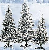 Künstliche Weihnachtsbäume mit Schnee 120 150 180 cm (180)
