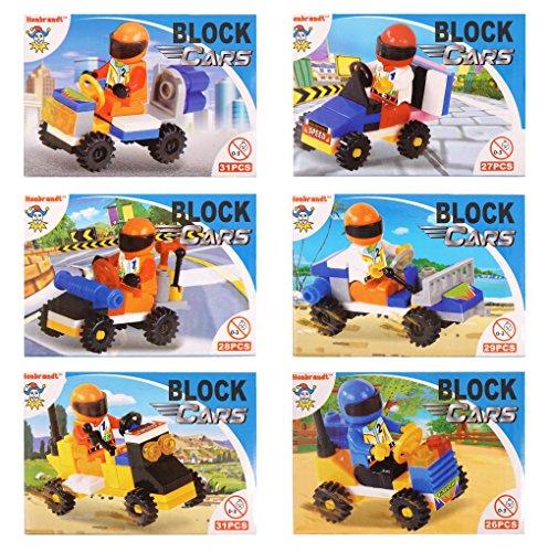 24 x Mini Building Block RACING ...