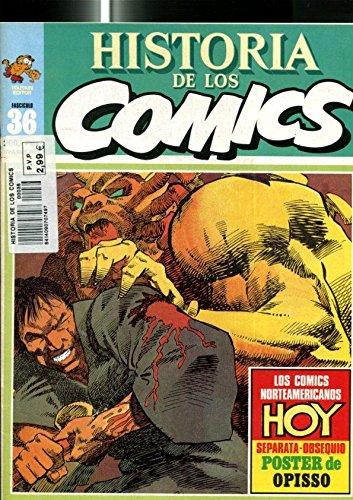 Historia de los comics numero 36: comics norteamericanos, ficha articulo sobre Gerry Conway, Mike Friedrich,