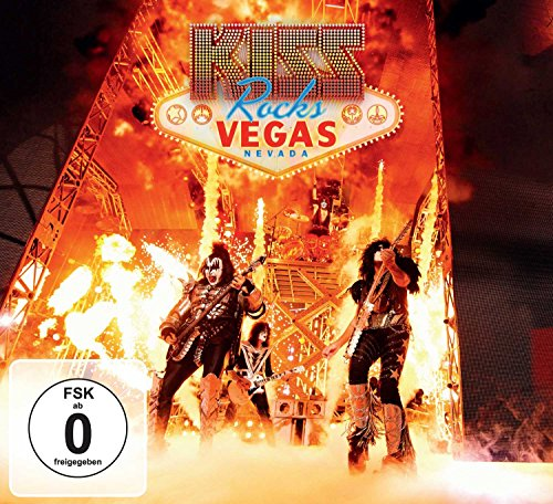 Kiss Rocks Vegas (Limited Edition) [CD + DVD]