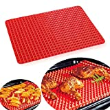 from TV Hits Pyramid Pan Fat Reducing Non Stick Silicone Mould Cooking Mat Oven Baking Tray