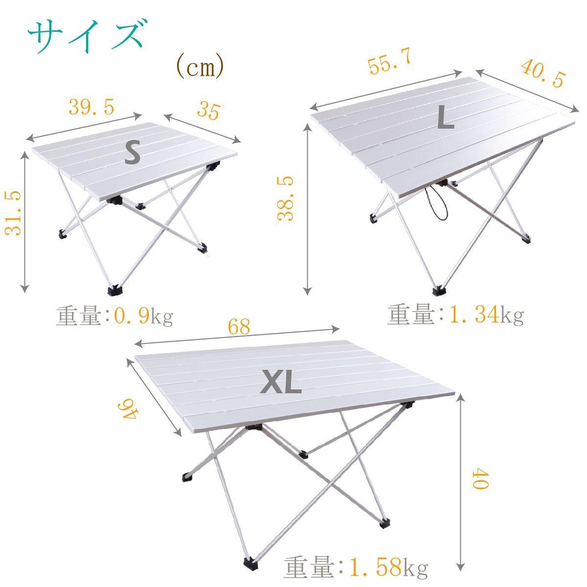 Tavolo Campeggio Alluminio Avvolgibile.Triwonder Tavolo Pieghevole Da Campeggio In Alluminio Ultraleggero