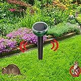 Pinkdose® Garden Yard New Useful Solar Power Eco-Friendly Ultrasonic Gopher Mole Snake Mouse