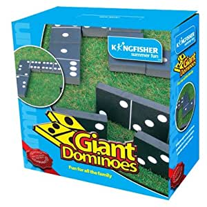 King Fisher GA008 Garden Dominoes Game