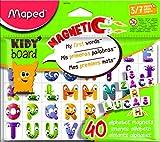 Maped M587310 - Magnete Fancy ABC, 40 Buchstaben für Kidy'Board