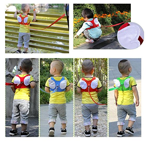 5.9Ft Pink Eunice house Child Anti-lost Wrist Strap Kids Hand Belt Leash Safety Harness for Toddlers Baby Children Walking