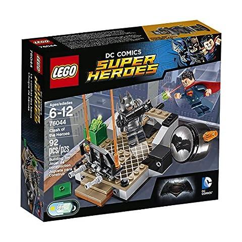 LEGO - 76044 -DC Comics Super Heroes - Jeu de Construction - Le combat des Héros