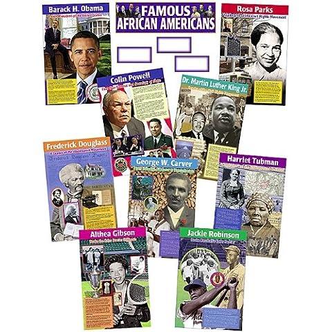 Teacher Created Resources 4752 afroamericanos Bulletin Board famoso juego de pantalla