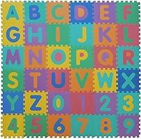 VeloVendo® - Tappeto Puzzle con Certificato CE e Certificazione TÜV Rheinland in soffice Schiuma Eva | Tappeto da Gioco...