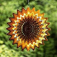 Natural Fun Wind Spinner, estrella, acero inoxidable, color cobre, ...