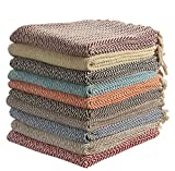 Large Cotton Zig-Zag Sofa Throws Single Bed Throw Arm Chair Covers 125 x 150cms ( Colour...
