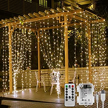 Le Window Curtain Lights 3x3m Battery Operated Or Usb